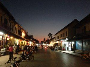 Bowling Luang Prabang and restaurants
