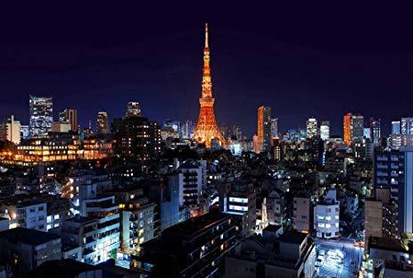Tokyo Tower At Night